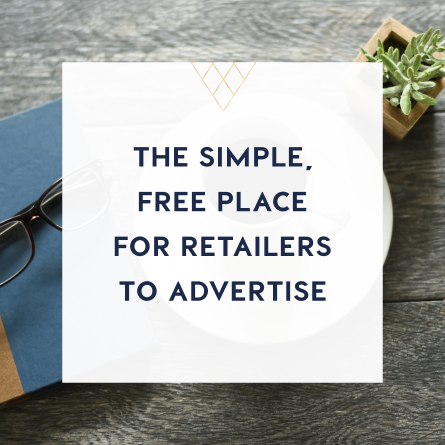 the simple free place for retailers to advertise