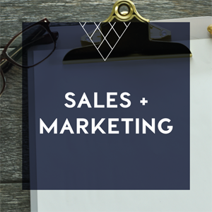 sales marketing web button