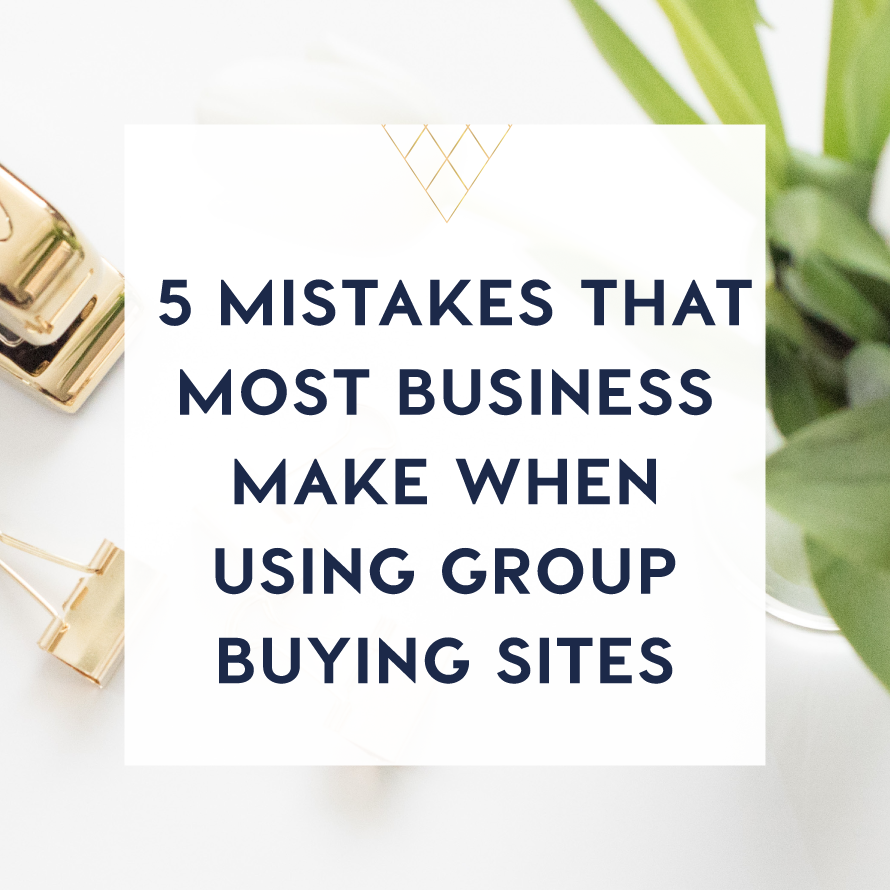 5 mistakes that most businesss make when using group buying sites