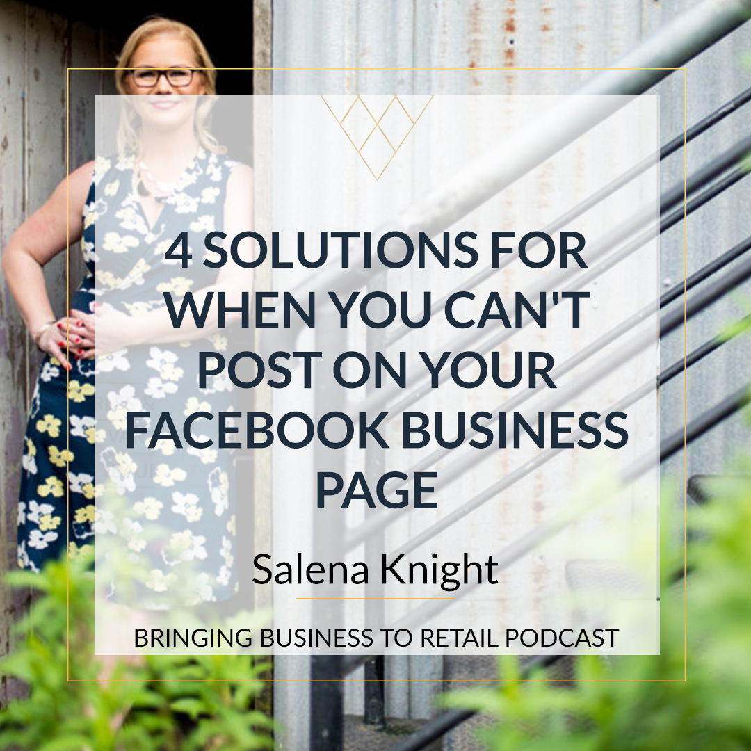 4 Solutions For When You Can't Post On Your Facebook Business Page sqr