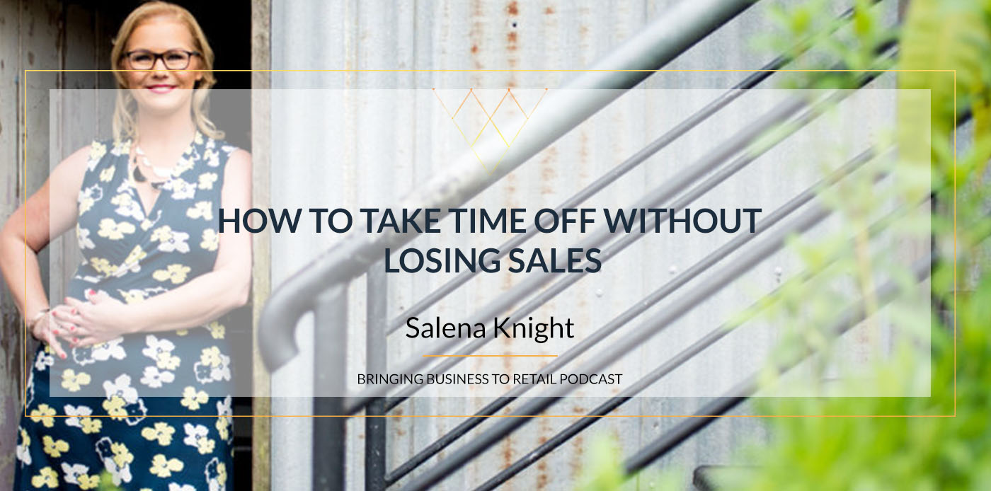 How to take time off without losing sales rec