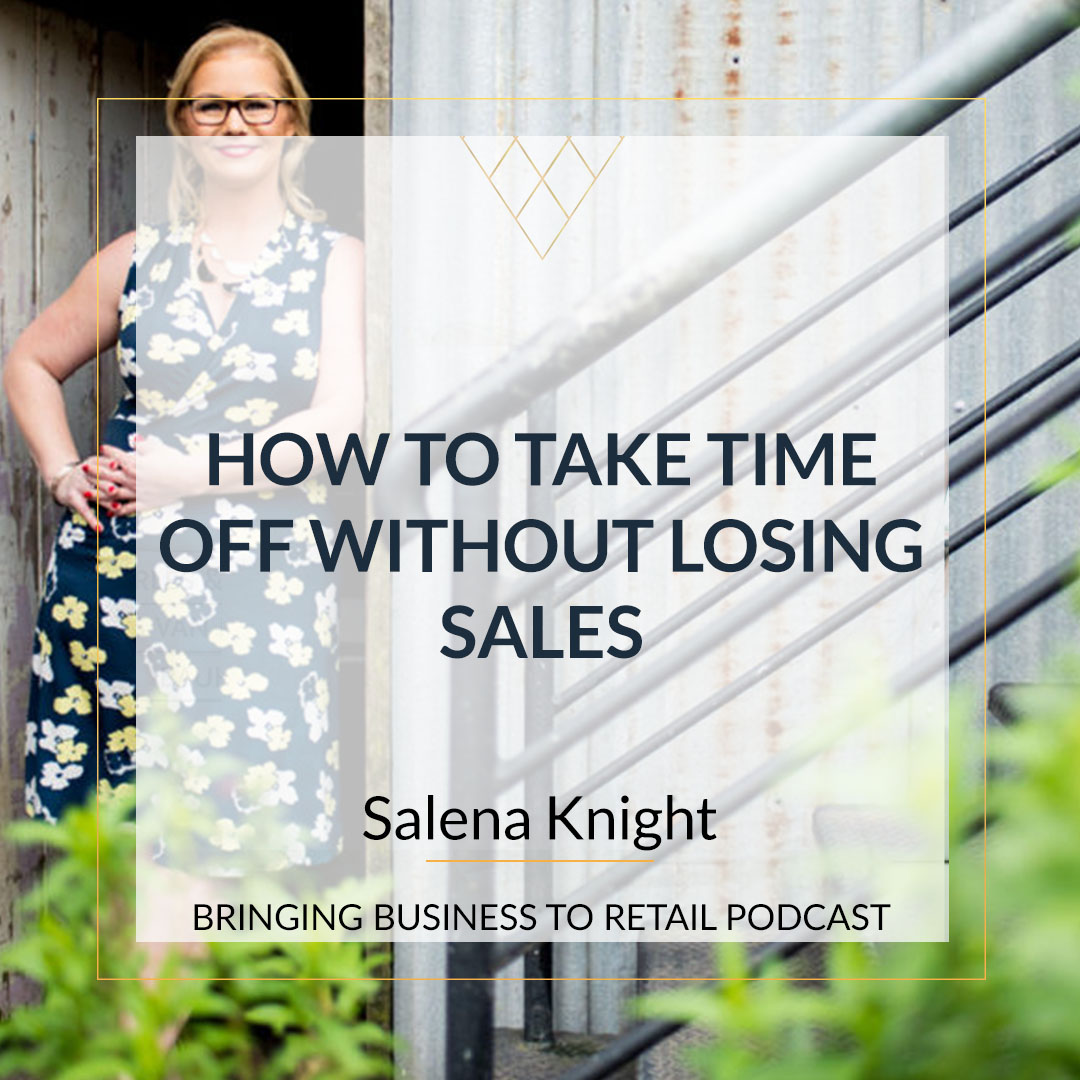 How to take time off without losing sales square