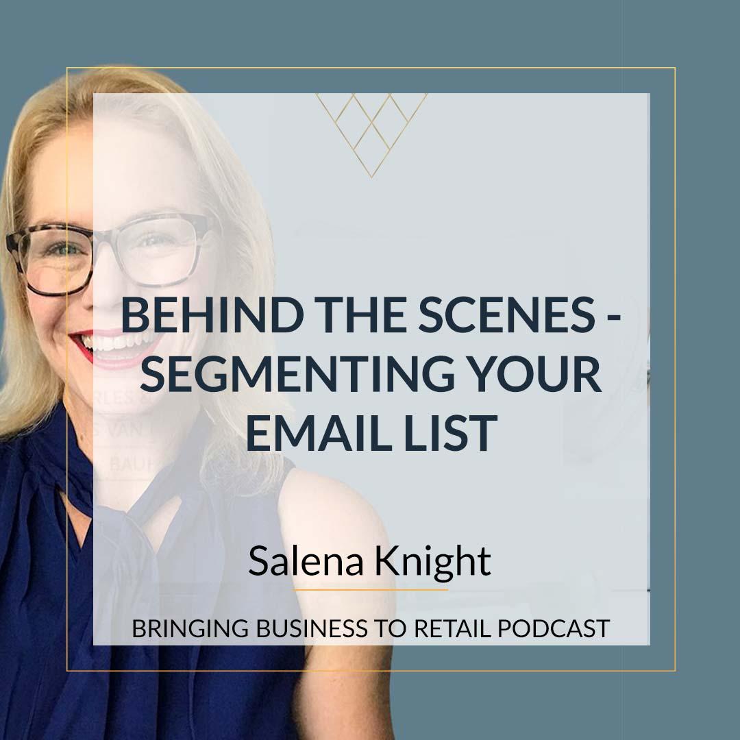 Segmenting email list square