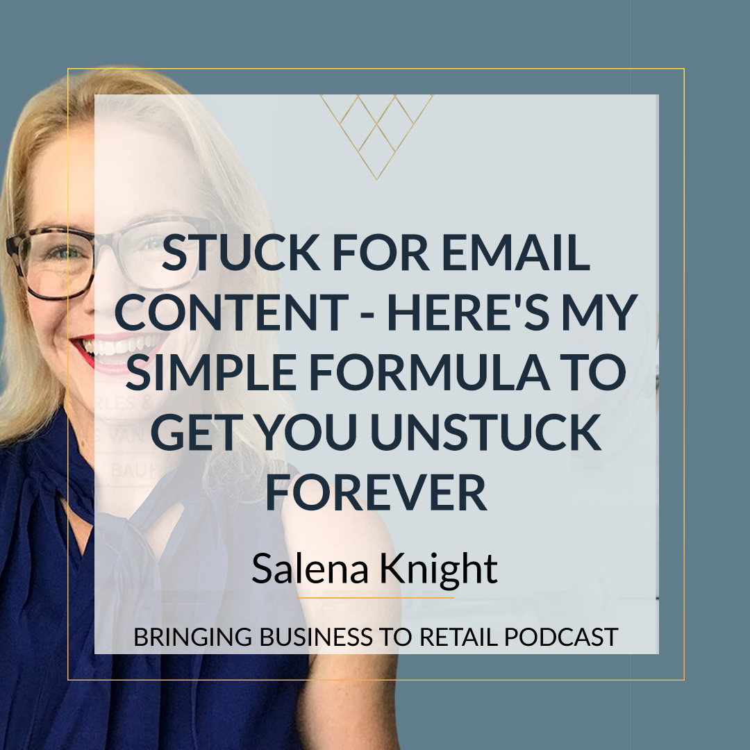 Stuck For Email Content – Here's My Simple Formula To Get You Unstuck Forever square